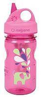 Бутылка Nalgene Grip'n Gulp 350ml Pink Elephant