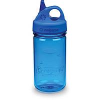 Бутылка Nalgene Grip'n Gulp 350ml Blue