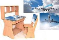 Парта для дома Самолет 0156