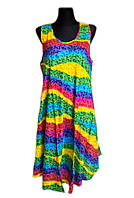 Летнее платье-сарафан, штапель