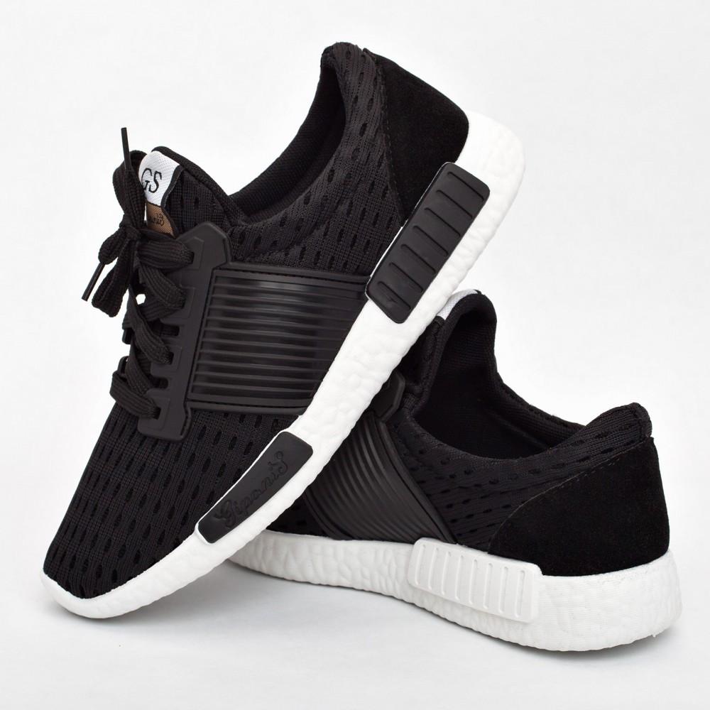 Женские кроссовки черные (Код: 203)