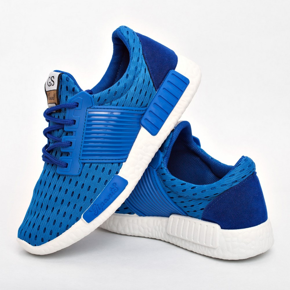 Женские кроссовки голубые (Код: 203)