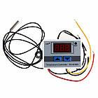 Термореле термостат температурное реле терморегулятор XH-W3001 питание на 12В, фото 2