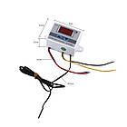 Термореле термостат температурное реле терморегулятор XH-W3001 питание на 12В, фото 4