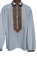 """Чоловіча вишита сорочка """"Неббі"""" (Мужская вышитая рубашка """"Небби"""") SN-0014"""