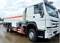 Автоцистерна SINOTRUK HOWO 6x4 для перевозки топлива
