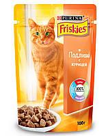Консервы Friskies для кошек с курицей, 100 г