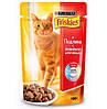 Консервы Friskies для кошек с индейкой и печенью, 100 г