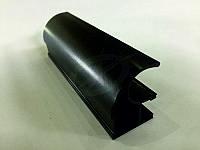 Профиль алюминиевый для раздвижных дверей, цвет RAL 9005