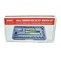 Супер цена на набор инструментов Aiwa 40 ед. в чемоданчике