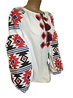 "Жіноча вишита блузка ""Мадлен"" (Женская вышитая блузка ""Мадлен"") BT-0081"