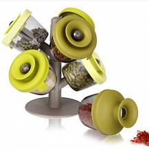 Набір для спецій Spice Rack зберігання трав і спецій органайзер для кухні ємності