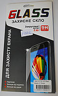 Защитное стекло Fiber Tempered Glass for SAMSUNG A720 Galaxy A7 (2017) Black, F2122