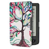 Обложка чехол для PocketBook 615/614 Basic 2/624 Basic Touch/625/640 Aqua/626 Touch Lux 2/Lux 3 Денежное дерево