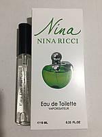 Женская мини парфюмерия Nina Ricci Green Apple  10 мл