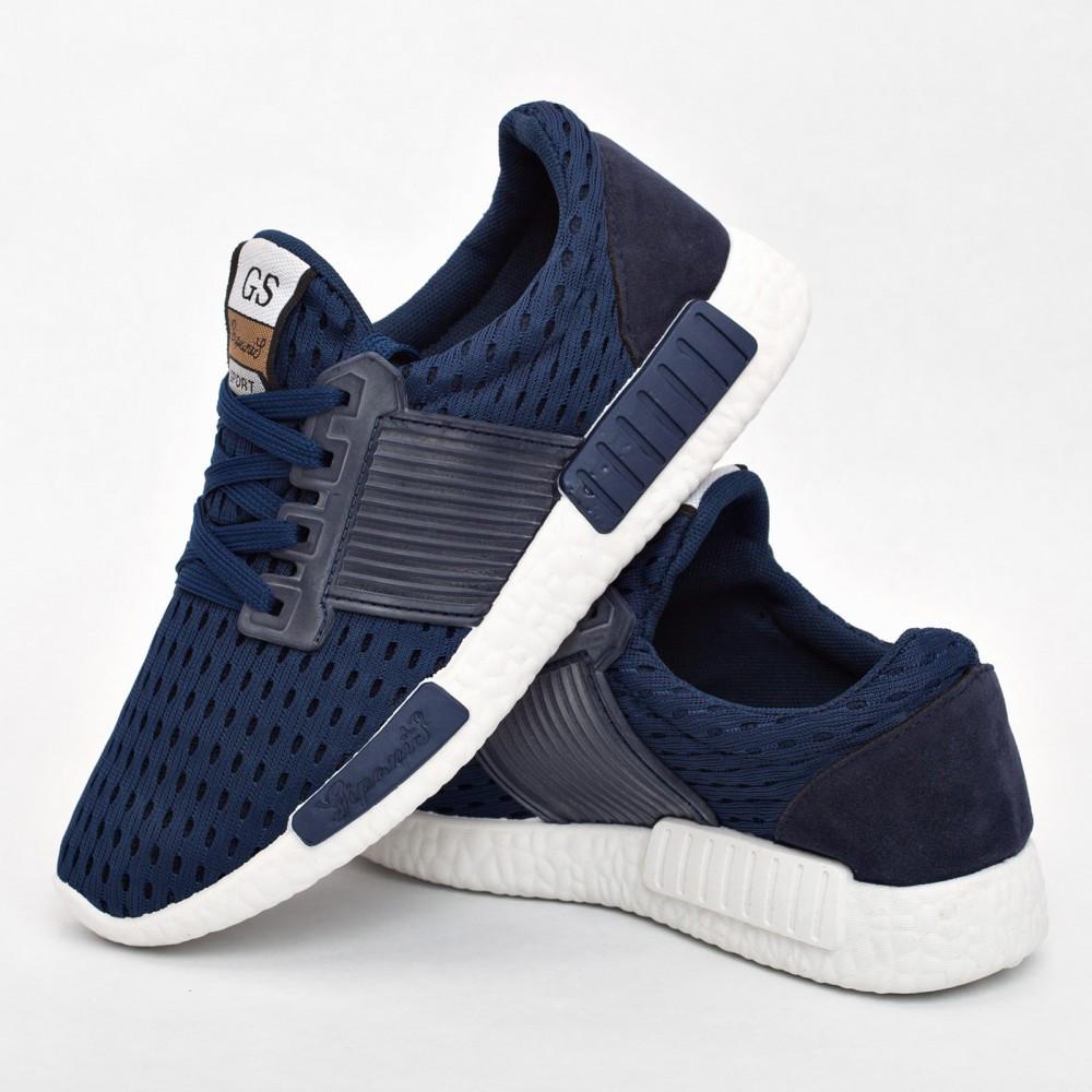 Женские кроссовки синие (Код: 203)
