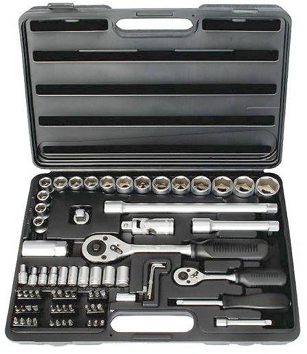 Набор инструментов ET-6072 Intertool 72 предмета