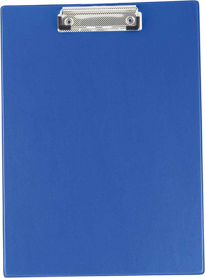 Кліпборд А4, PVC, т.синій