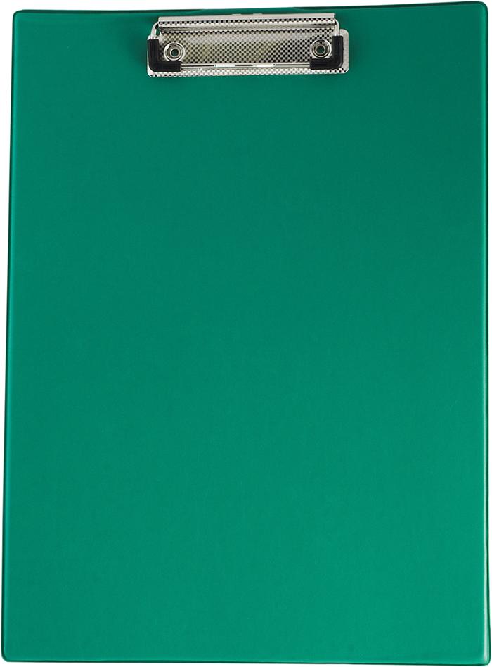 Кліпборд А4, PVC, зелений