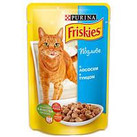Консервы Friskies для кошек с лососем, 100 г
