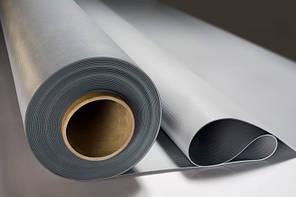 ПВХ мембрана Vinitex® MP 1,5 мм.  с защитой от УФ, армированная, серый/темно-серый 2,1*20м.