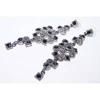 Изысканные нарядные серьги для модной девушки. Хорошее качество. Доступная цена. Дешево.  Код: КГ1219