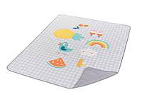 Развивающий коврик для прогулок ИДЕМ ГУЛЯТЬ 140х115 см, водонепроницаемый Taf Toys (12145)