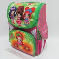 Рюкзак-коробка 3 отделения 33х24х13,5см Little Girls