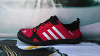 Мужские кроссовки Adidas Climacool Daroga красные
