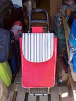 Тележка хозяйственная на металлических колёсах грузоподъёмностью до 50 кг., фото 1