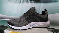 Мужские кроссовки NIKE Air Presto серые