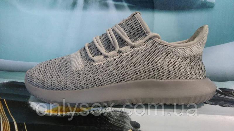 26cd81ccb Мужские кроссовки Adidas Tubular Shadow светло-серые - onlysex в Киеве