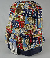 Рюкзак школьный, городской, сделан в Украине.