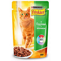 Консервы Friskies для кошек с кроликом, 100 г