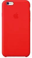 Кожаная накладка с логотипом Apple для телефонов iPhone 6/6+