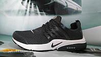 Мужские повседневные кроссовки NIKE Air Presto темно-серые