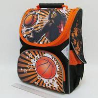 Рюкзак-коробка 3 отделения 33х24х13,5см Баскетбол