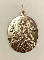 Ладанка  золото 585 пробы,арт.406 d