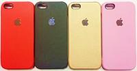 Кожаная накладка для телефонов iPhone 5, 6, 6+