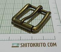 Пряжка (квадрат) металл (Италия) (отполированная, латунь)