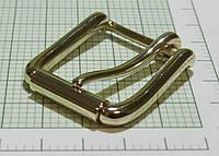 Пряжка (квадрат) металл (Италия) (отполированный, золото)