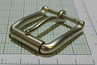 Пряжка (квадрат) металл (Италия) (матовый, белое золото)