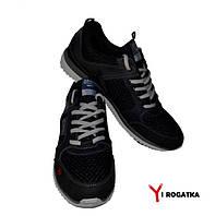 Мужские кроссовки SPLINTER, черные, сетка+кожа
