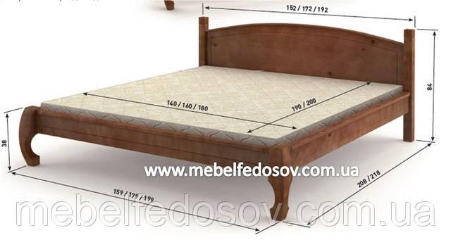 Кровать манхеттен мебигранд