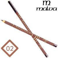 Malva Cosmetics Карандаш M-319 дерево для губ Lip Contour Pencil Тон №002 natural, матовый