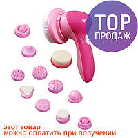Массажер для лица Face Massager с 12 насадками / прибор для массажа