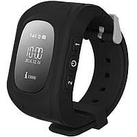Детские умные часы Q50 с GPS трекером и функцией телефона (Black)