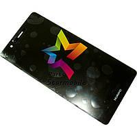 Дисплей для мобильного телефона Huawei P9, черный, с тачскрином, ORIG
