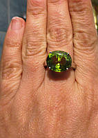 """Яркий перстень с султанитом   """"Ультра"""", размер 17 от студии LadyStyle.Biz"""