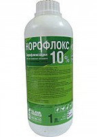 Норофлокс 10%, 1л O.L.KAR. (аналог Энрофлокс 10%, 1л)